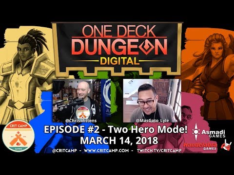 One Deck Dungeon Digital EP2 Two Hero Mode