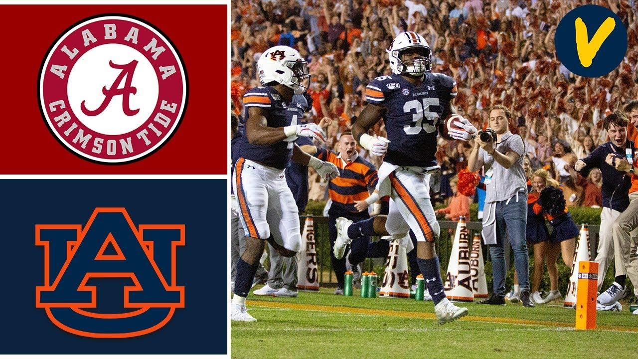 #5 Alabama Vs #15 Auburn Highlights