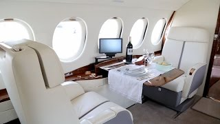 How Dassault Puts the VIP Touch Inside the Falcon Jet Cabins – BJT