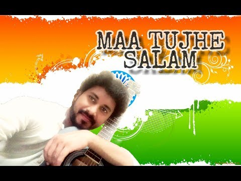 Maa Tujhe Salam || Karaoke Cover Song || By Ashish Das