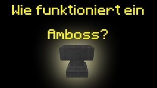 Minecraft-Tutorial: Wie funktioniert ein Amboss (Anvil)? (PMT060) [DE] [HD]