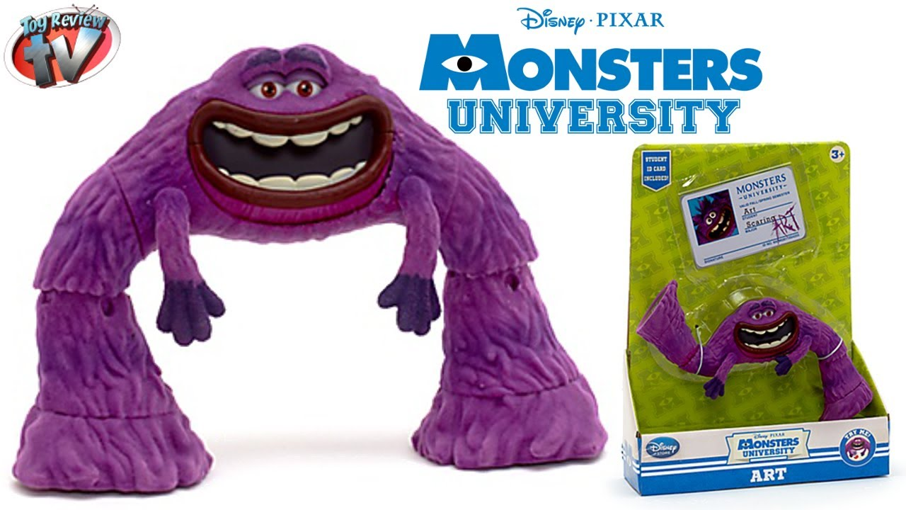 Monsters University Disney Store Art Action Figure Toy Review Youtube