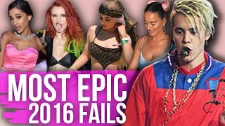 12 MOST EPIC Fashion FAILS of 2016! (Dirty Laundry)