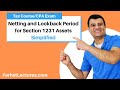 Netting and Lookback Period for Section 1231 Assets | Corporate Income Tax | CPA REG | Ch 14 P 3