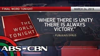 Final Word - March 24, 2019 | ANC