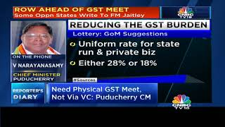 Some Oppn States Call For Delaying GST Meet