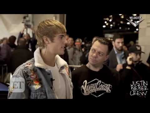 Justin Bieber's interview at the Barett Jackson charity