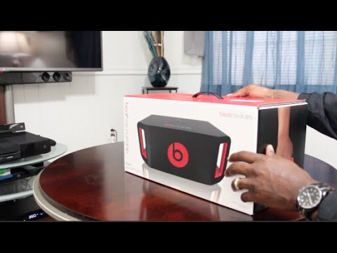 Beats By Dre Beatbox portable Bluetooth Speaker How To Pair Sound & Quality