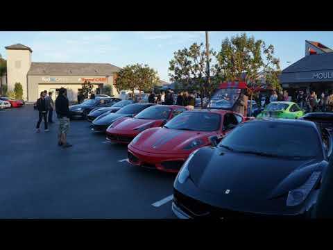 Cars And Cafe Newport Beach Jan 2018