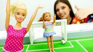 ToyClub шоу - Кукла Барби нашла билеты на футбол!