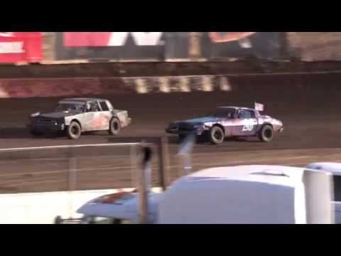 Perris Auto Speedway 2-11-18 American Factory Stock Highlights