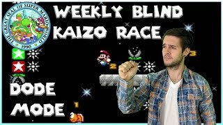 DODE MODE - SMW Blind Kaizo Race
