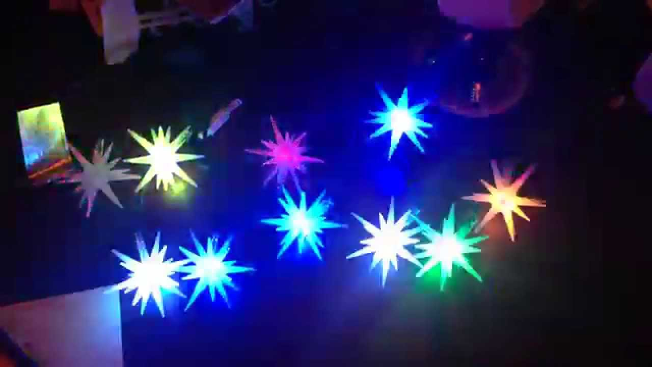 Philips Color Changing Starburst Lights Youtube