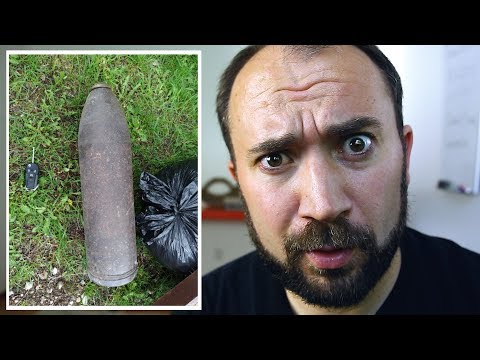 Man Finds Bomb In Neighbor's Trash • Explosion Wednesday