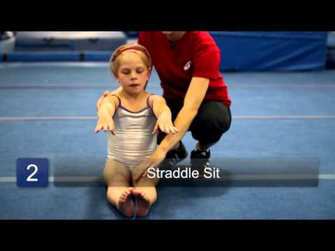 Stretching for Beginner Gymnasts : Beginning Gymnastics