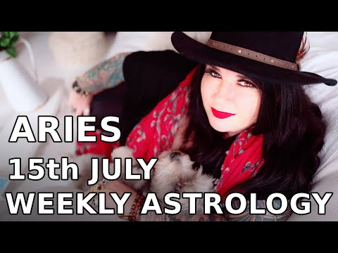 Aries Weekly Astrology Horoscope 15th July 2019 - YouTube