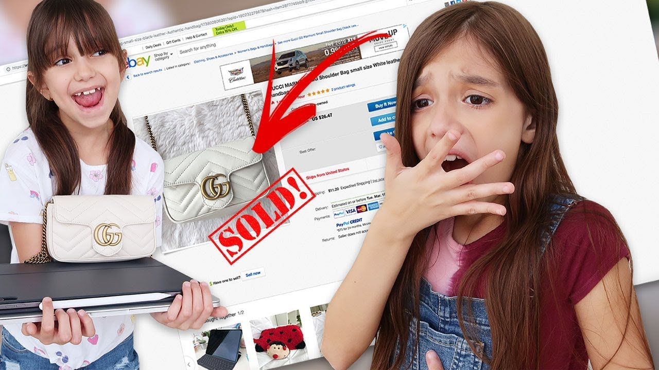 3c71061a7dee I SOLD My Sister's GUCCI and iMac Pro on Ebay PRANK! - YouTube