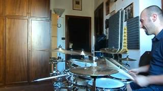 Gretsch renown maple jazz set drum solo