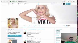 who follows pornstars on twitter