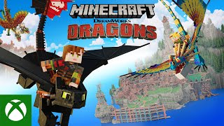 Minecraft Dreamworks How t๐ Train Your Dragon DLC : Official Trailer