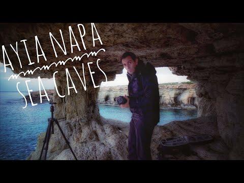 Ayia Napa Sea Caves, Short Photography seascape  Vlog