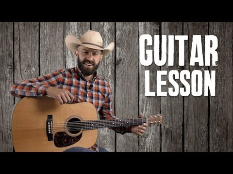Adding Country Fills Between Your Chords with Key of D Scales - Guitar Lesson Tutorial