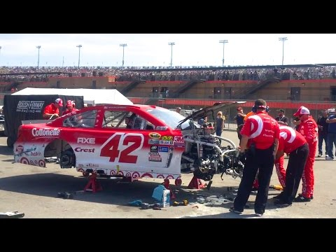 My Journey In NASCAR - Episode 3 Pit Pass At Auto Club Speedway