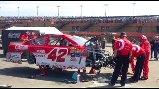 my journey in nascar episode 3 pit pass at auto club speedway