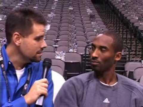 Kobe Bryant and Bill Ingram