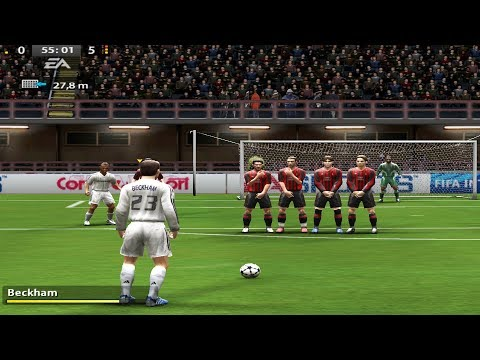 Free Kicks from Fifa 94 to 18