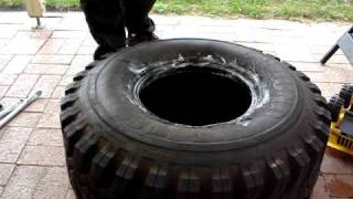 Fitting 4wd tires to 15 x 11 rims