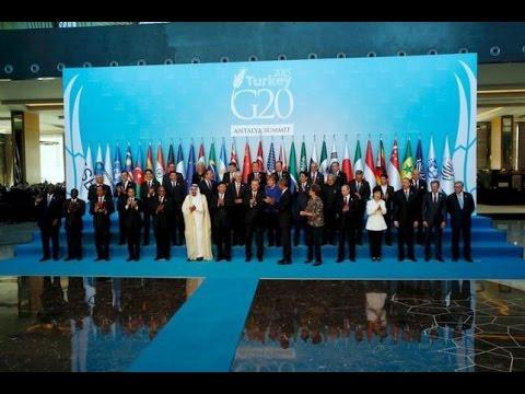 Live: G20 2015 Family Photo-Session in Antalya, Turkey