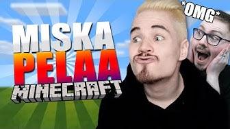 EKA MINECRAFT VIDEO IKINÄ! w/ MiskaMH | Minecraft Suomi