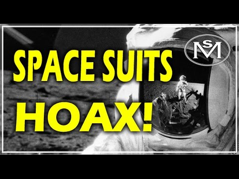 NASA HOAX! SPACE SUITS ARE NOT DESIGNED FOR USE IN A VACUUM PERIOD