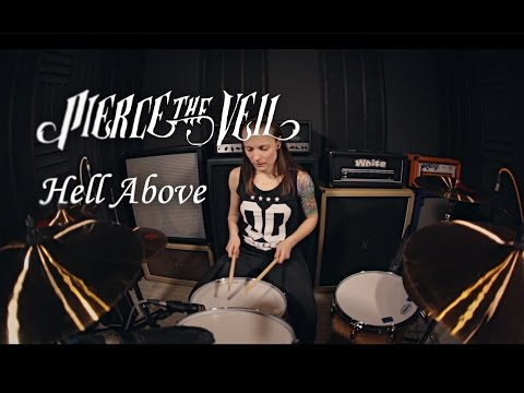 Pierce the Veil - Hell Above (drum cover by Vicky Fates)
