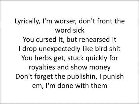 Notorious B.I.G. - Kick In The Door HD (Lyrics) (By DJ Premier)
