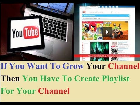 How To Create Youtube Playlist !!! Easy Way To Grow Your Channel