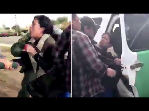 Video quay lại cảnh cơ quan di trú bắt người mẹ trước mặt các con gây sự phẫn nộ