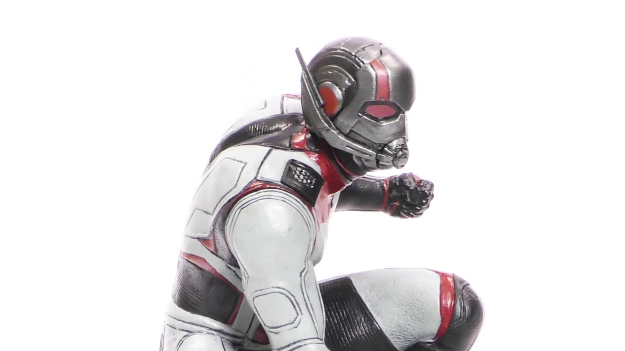 Marvel Movie Gallery Avengers Endgame Ant-Man PVC Diorama Unboxing + 360
