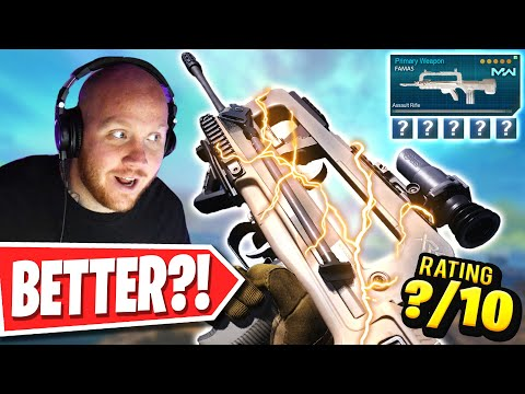 IS THIS THE NEW DMR IN WARZONE?! (FR 5.56 FAMAS BUILD)
