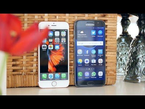 Test: Samsung Galaxy S7 vs. Apple iPhone 6s Vergleich | deutsch