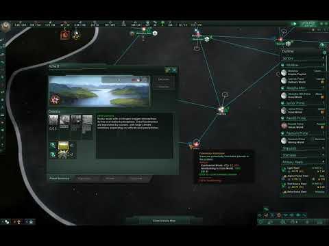 Stellaris - Gaia Terraforming Mutilates Planet Districts I (Jan  8th, 2018  - Niven 2 2 3)