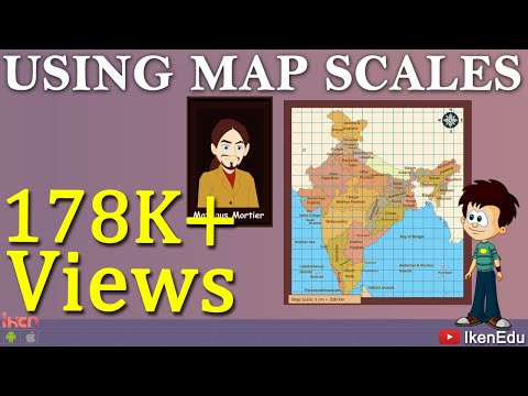 Learn Geography - How to use Map Scale in Maps?