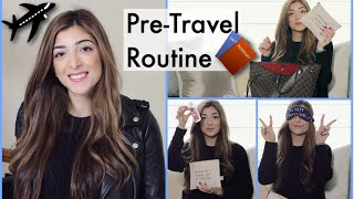 What's In My Carry On Bag & My Pre-Travel Routine | Amelia Liana Thumbnail