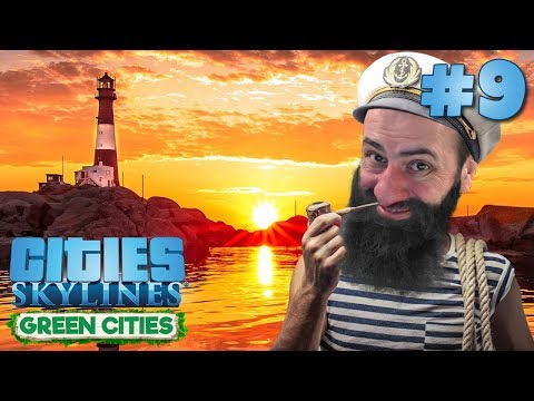 ⚓ UNIVERSIDADE TECNOLÓGICA E FAROL DA BARRA !! - Cities Skylines Green Cities #9