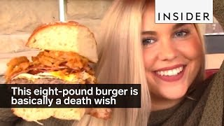 This eight-pound burger is basically a death ...