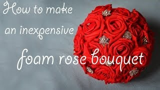 How to make a cheap foam bouquet | Style 1