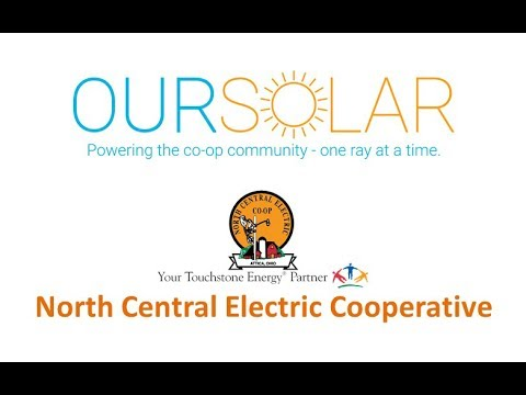 North Central Electric's community solar program