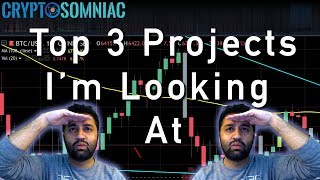 👁️Top 3 Blockchain Projects I'm Holding 👁️ | 📊Cryptocurrency TA With Sneh 📈