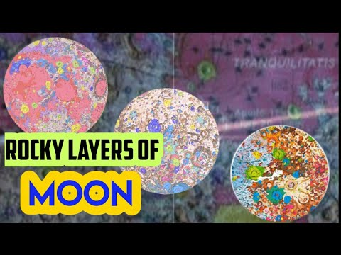 United State Geological Survey   First-ever Comprehensive Geological Map Of Moon